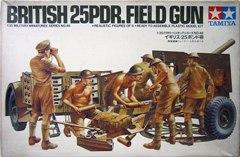 イギリス・25ポンド砲 1/35 タミヤ