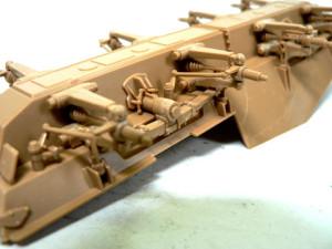 Sd.kfz.234 の足まわり