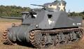 米軍の戦車の履帯はほとんど垂れていない。