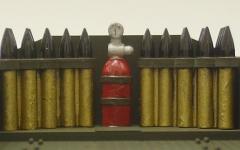 消火器の塗分けをでっち上げる