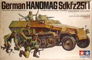 ドイツ・ハノマーグ兵員輸送車 1/35 タミヤ
