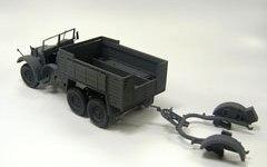 クルップボクサーと20mm対空機関砲の台車