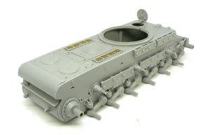 KV-1'sエクラナミ 車体の組立て