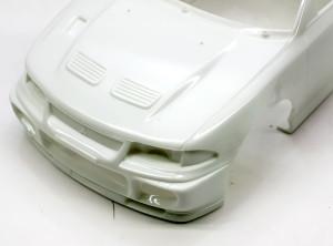 ランサーGSRエボリューション3 ボディの整形