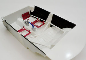 ランサー・エボリューション3  インテリア床面